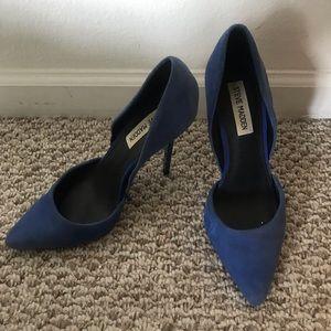 STEVE MADDEN cobalt blue pumps size 8.5